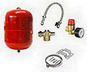 Spatec Heating expansion vessel with kit