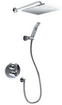 thermostatic shower valve and kit
